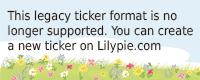 Lilypie Kids birthday Ticker