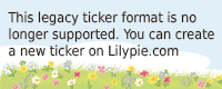 Lilypie Kids birthday Ticker